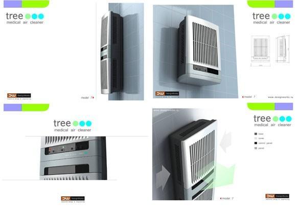 Очиститель воздуха Tree - история разработки