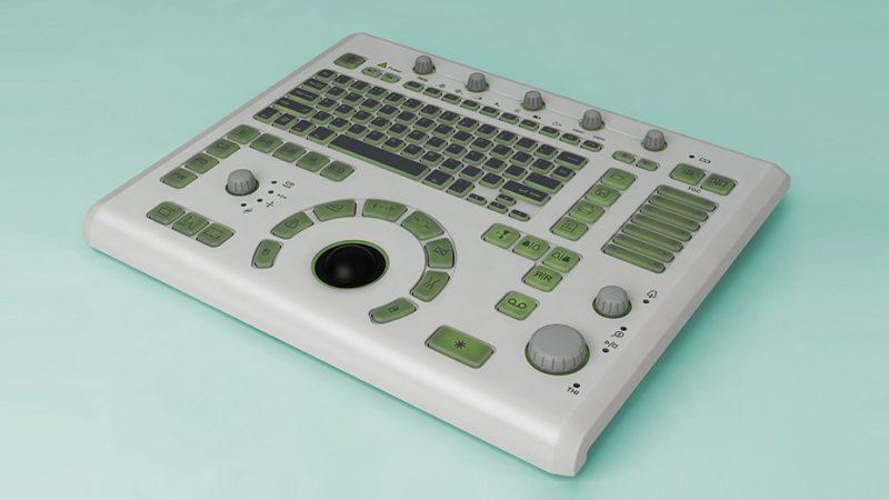 Разработка корпуса медицинской клавиатуры по классу IP 53